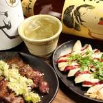 鶏彩 - レバ・ステーキ(ササミ)