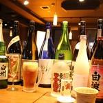 鶏彩 - お酒