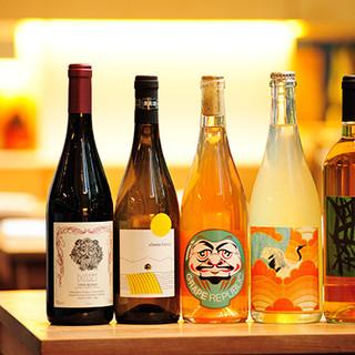 料理に合わせてセレクトしたワインのほか、地酒や焼酎もご用意