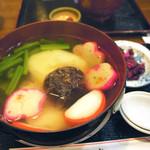 七福堂 - 雑煮(おすまし味) 餅2個