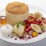 Cafe202 - 料理写真:ふくふくパンケーキ デラックス