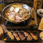 ヤキトン イチバンボシ - 4,800円食べ飲み放題コース!イチバンボシカレー鍋コース