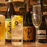 ヤキトン イチバンボシ - ビール・サワー・日本酒・スパークリングなど各種ドリンク