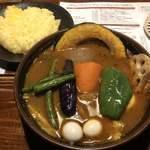 ラマイ - チキン+ゆで卵 1,200円+50円