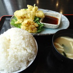 木村屋本店 - 鶏天定食
