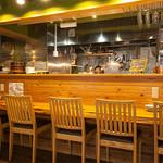 葱料理 shin's place - キッチン側