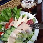 カフェ ピュアハート - コンビネーションサラダ