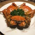 117590234 - 蒸し上海蟹