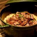 焼肉 ジャンボ - 牛ご飯
