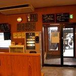火の国文龍 - 火の国文龍総本店店内 食券を買うシステムです