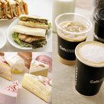 Cafe 506 - 料理写真:自家製ホットサンドはオーダーごとにプレスしてお出ししています。