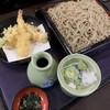 ぼうず - 料理写真:天ざるそば 大盛 ¥1190(税別)