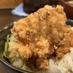 炙り味噌らーめん 麺匠 真武咲弥  - ミニ唐揚げ丼