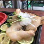 117600416 - 豚肉に大根おろし(大つけ麺博 美味しいラーメン集まりすぎ祭)