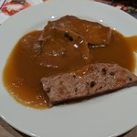 Delicious Kitchen EMONDEL - カレーにステーキをトッピング!(贅沢ご飯無しバージョン  笑)