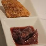 まめ壺 - 料理写真:魚おかきあげ・ホタルイカ沖漬け