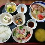 味処 四季菜 - おさしみ定食 ¥720-のみ