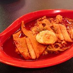韓味村 - お皿もオモロイ。