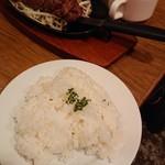 BLISS DINING - ライス込みの値段。