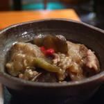 伊食酒房HIME - 茄子と豚肉の味噌煮込み