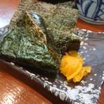 武蔵ラーメン - ・おにぎりラーメンセット 820円