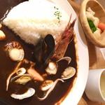 おふろcafe utatane - 欧風シーフードカレー