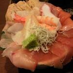 ゆげしま - 海鮮丼♪