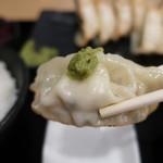 おとど食堂 - 肉汁焼餃子定食 W
