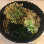 名代 箱根そば - スタミナそば(520円)