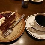 カフェ・ラパン - ブレンドコーヒー&本日のケーキ