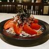 ryuushunsaishokudokou - 料理写真:アグー豚とトマト大根 梅肉ソースのサラダ仕立て