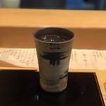 膳 - 黒霧島(ソーダ割り)