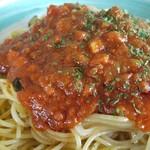 カフェ アフターヌーンティ - ◆「茄子のミートスパゲッティ」