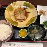 赤坂 三河家 - キンキの煮付け定食