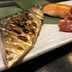 117640347 - 骨まで美味しい干物の焼き魚。