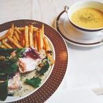 アネモス - スープはカボチャスープ
