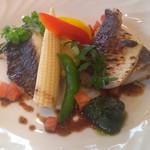 TUTTI - Cランチのメインディッシュ(鮮魚のポワレ〜いろいろなスタイルで〜)鮮魚は確かカマスとヒゲダイ