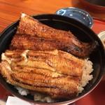 うなぎの美鶴 - 鰻丼アップ