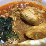 NEPALI CUISINE HUNGRY EYE Dine & Bar - チキンカレー接写