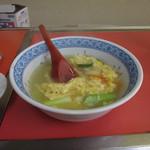 長安軒 - 玉子スープ@長安軒