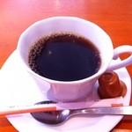 浅草カフェ ラグランドカリス - コーヒー・クロックムッシュセット<モーニング>(480円)