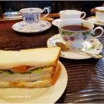 和蘭陀屋 - 料理写真:日替わりサンドイッチモーニング