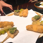 はん亭 - 銀杏、秋刀魚
