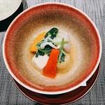 割烹 おみたま - お野菜の炊き合わせ