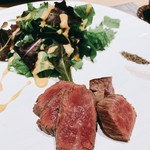 割烹 おみたま - A5ランク山形牛ヒレ肉の炙り