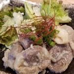 肉汁餃子のダンダダン - 砂肝のニンニク漬け