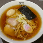 麺匠 玄龍 - 料理写真:あごだし醤油(煮卵入り)