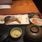旬彩庵 - 焼き鮭の定食