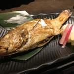 五郎 - 料理写真:のど黒塩焼