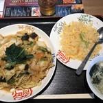 南国亭 - 料理写真:海鮮焼きそば 850円